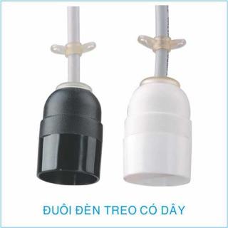 Chuôi đèn treo nhựa E27 chống cháy có dây điện an toàn Kín nước ( ngăn không cho nước vào bên trong )