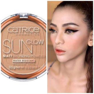 Phấn tạo khối Bronzer Catrice Sun Glow Matt Bronzing Powder thumbnail