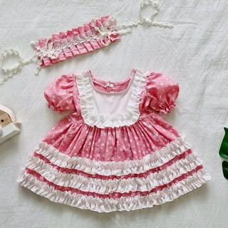 set váy Dolly hoa hồng 2 chi tiết( QUÀ ĐẦY THÁNG-THÔI NÔI-SINH NHẬT-HÀNG THIẾT KẾ)