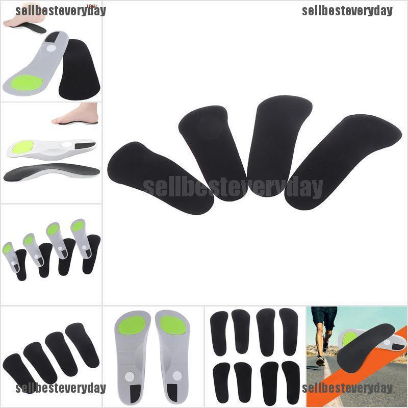 Arch Support Cushion Feet Care Insert Orthopedic Insole FlatFoot Health Sole Pad jelly
