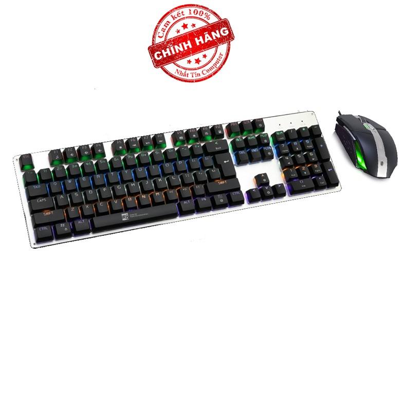 Bộ bàn phím cơ và chuột LED chơi Game R8 G100 - Ajazz AJ330 (Đen) - 2515704 , 409417485 , 322_409417485 , 1289000 , Bo-ban-phim-co-va-chuot-LED-choi-Game-R8-G100-Ajazz-AJ330-Den-322_409417485 , shopee.vn , Bộ bàn phím cơ và chuột LED chơi Game R8 G100 - Ajazz AJ330 (Đen)
