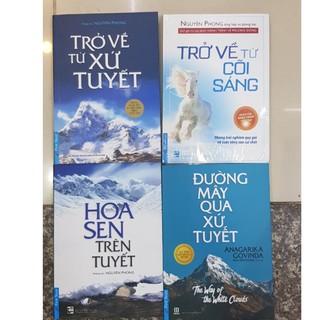 Sách - Combo 04 cuốn Trở Về Từ Xứ Tuyết, Trở về từ cõi sáng, Hoa sen trên tuyết, Đường mây qua xứ tuyết, Con mèo dạy ... thumbnail