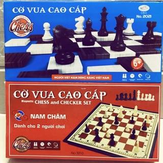 Bộ cờ vua cao cấp nâm châm loại nhỡ kích thước 28x28cm .