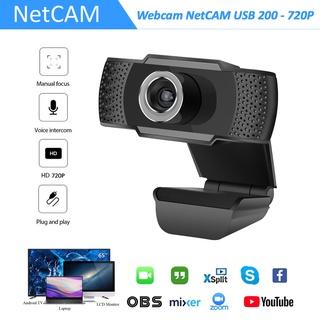 Webcam NetCAM USB 200 độ phân giải 720P - Hãng phân phối chính thức thumbnail