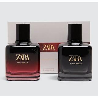 Set nước hoa nữ Zara RED VANILLA + BLACK AMBER EDT 100ml