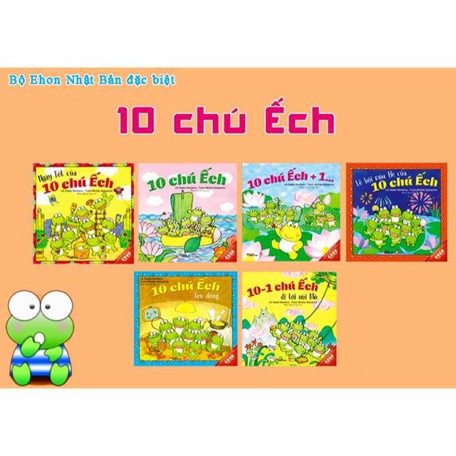 Trọn bộ 18 cuốn Ehon 10 Chú Ếch - 10044164 , 652990182 , 322_652990182 , 350000 , Tron-bo-18-cuon-Ehon-10-Chu-Ech-322_652990182 , shopee.vn , Trọn bộ 18 cuốn Ehon 10 Chú Ếch