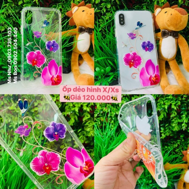 Ốp lưng silicon iphone X/Xs