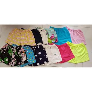 set 10 quần short đùi cho bé vải cotton xuất dư từ 06-30kg