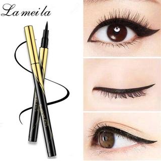 Bút kẻ mắt trang điểm LAMEILA dạng lỏng màu đen nhanh khô chống thấm nước lâu trôi thumbnail