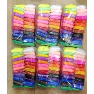 đất nặn soft clay 12 màu- 24 mafu -36 màu nguyên liệu làm slime shop khobansilc