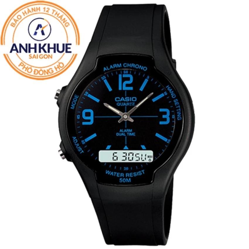 Đồng hồ nam dây nhựa Casio Anh Khuê AW-90H-2BVDF - 3519339 , 888746810 , 322_888746810 , 851000 , Dong-ho-nam-day-nhua-Casio-Anh-Khue-AW-90H-2BVDF-322_888746810 , shopee.vn , Đồng hồ nam dây nhựa Casio Anh Khuê AW-90H-2BVDF