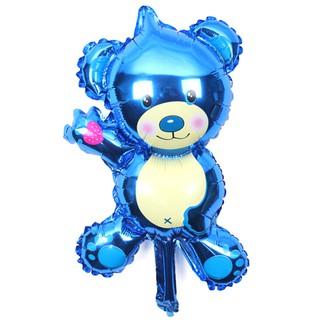 ☆VN 2pcs Cartoon Bear Air Balls Aluminum Foil Balloon Birthday Party decor