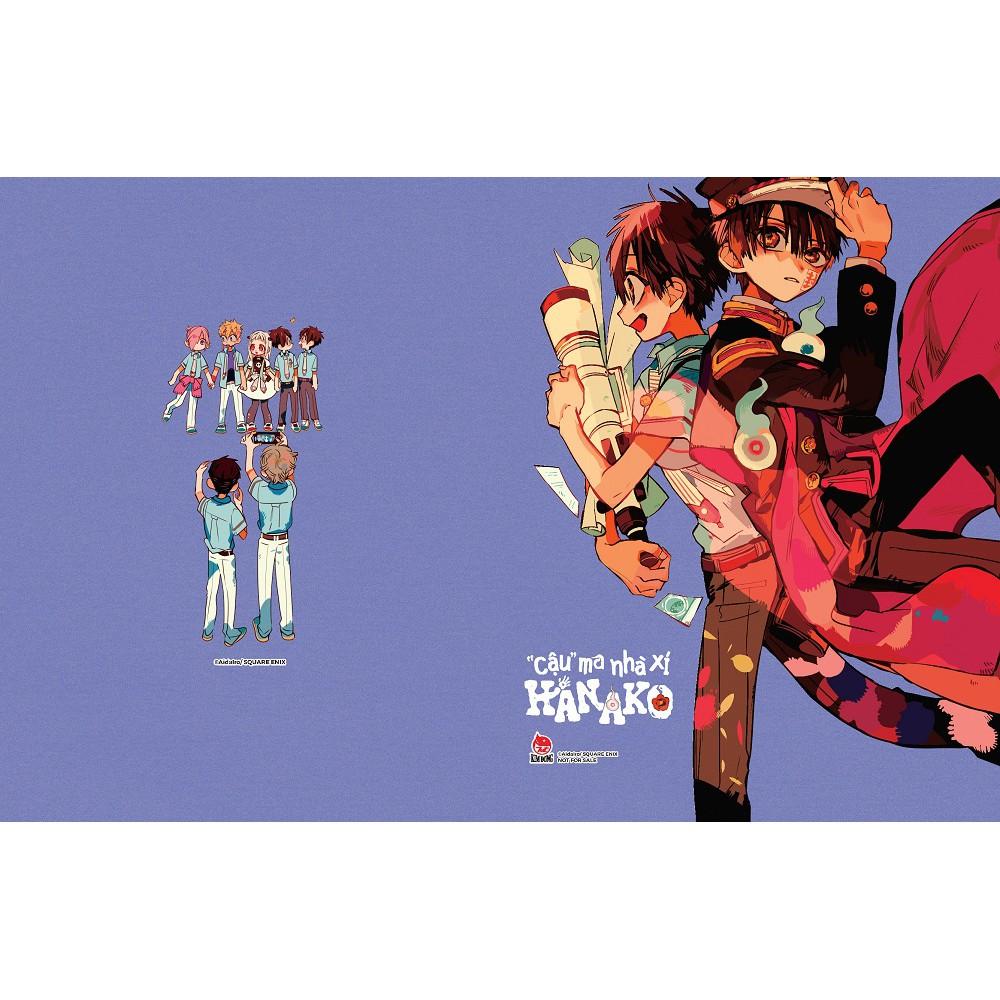 """Truyện tranh - """" Cậu"""" ; ma nhà xí Hanako Tập 9 ( Tặng kèm sổ tay ngẫu nhiên)"""