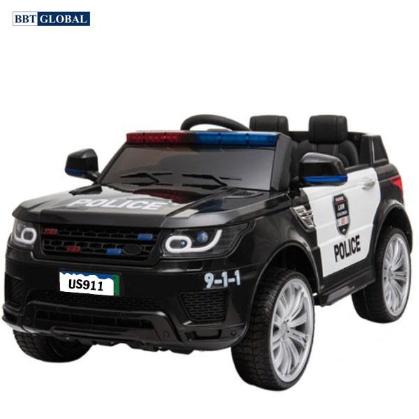 [Mã LIFET1510 giảm 10% đơn 150K] Ô tô điện trẻ em cảnh sát BBT Global US911B