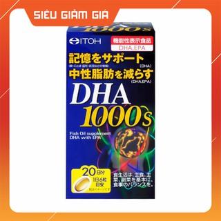 Viên Uống Bổ Não DHA 1000s