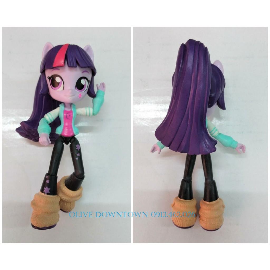 Bộ 3 búp bê 13cm PINKIE PIE, TWILIGHT SPARKLE & RAINBOW DASH - My Little Pony