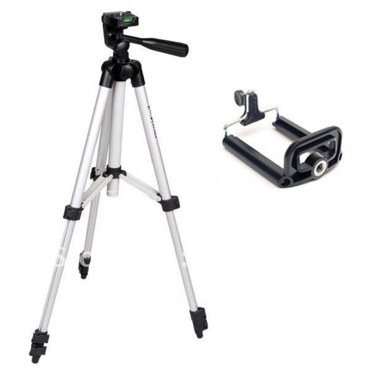 Chân máy ảnh và giá đỡ điện thoại Tripod 3110 - Chân Điện Thoại Và Máy Ảnh