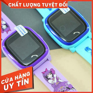 Đồng hồ đv trẻ em chống nước DF25 ( mầu mới HỒNG ĐEN) [Full box nguyên seal]