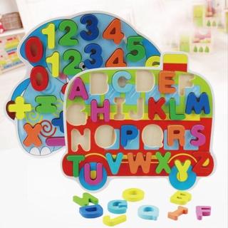 đồ chơi trẻ em Học Toán Bằng Gỗ Cho Bé