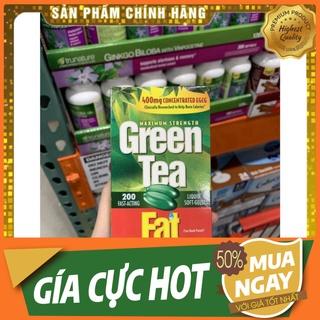 BÁN GIÁ GỐC Viên uống giảm cân từ trà xanh Green Tea Fat Burner 200 viên của M thumbnail