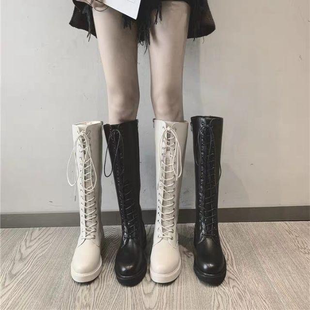 Order boots đùi phong cách Ulzzang mới nhất mùa thu 2019, hàng quảng châu loại đẹp