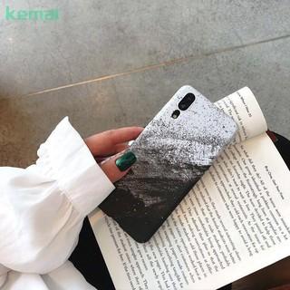Xiaomi MI Note 3 Hard Case Xiaomi 6X/6/8x Sand Painting TPU Water Stickers Cover