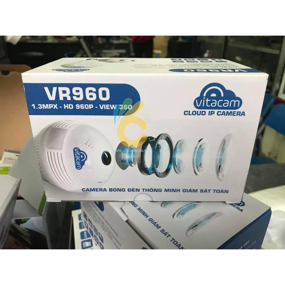 VITACAM VR960 - Camera Panorama IP Wifi - Góc siêu rộng - 3188463 , 848248447 , 322_848248447 , 629000 , VITACAM-VR960-Camera-Panorama-IP-Wifi-Goc-sieu-rong-322_848248447 , shopee.vn , VITACAM VR960 - Camera Panorama IP Wifi - Góc siêu rộng