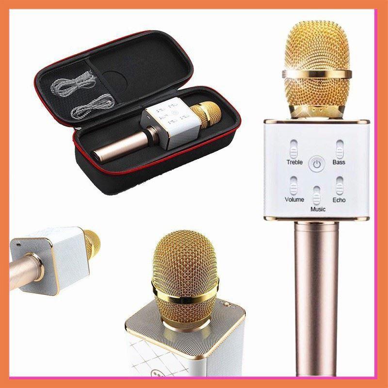 Micro Karaoke Q7 Tích Hợp Loa Bluetooth Tặng Kèm 1 Giá Đỡ Điện Thoại Universal Stand