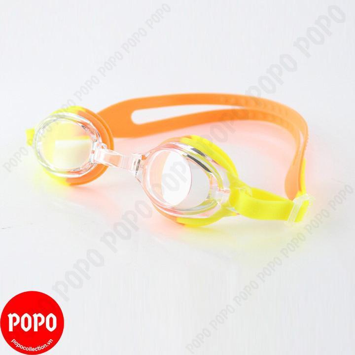 Kính bơi trẻ em Nhật Bản 830 POPO Collection chống tia UV, chống sương mờ Cam
