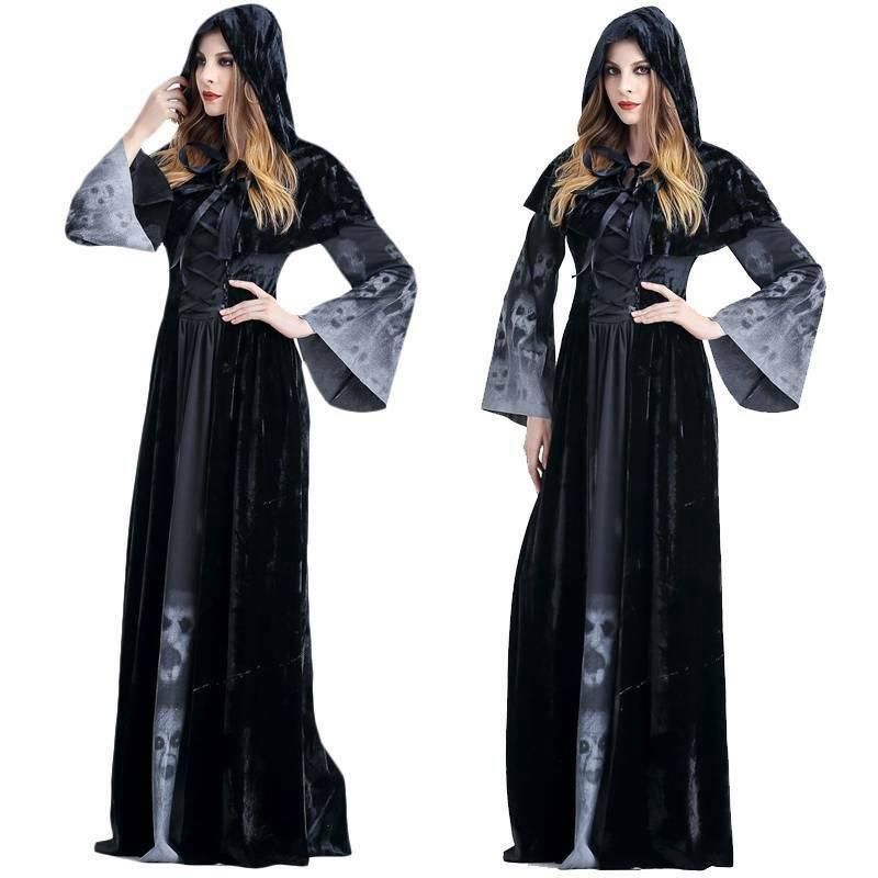 Đầm hóa trang phù thủy Hall
