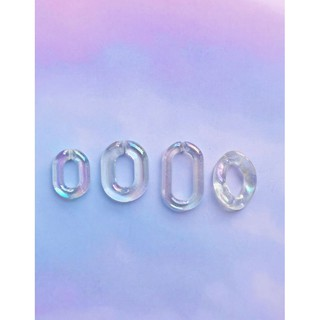Mắt xích ánh hologram hình ovan và dạng xoắn