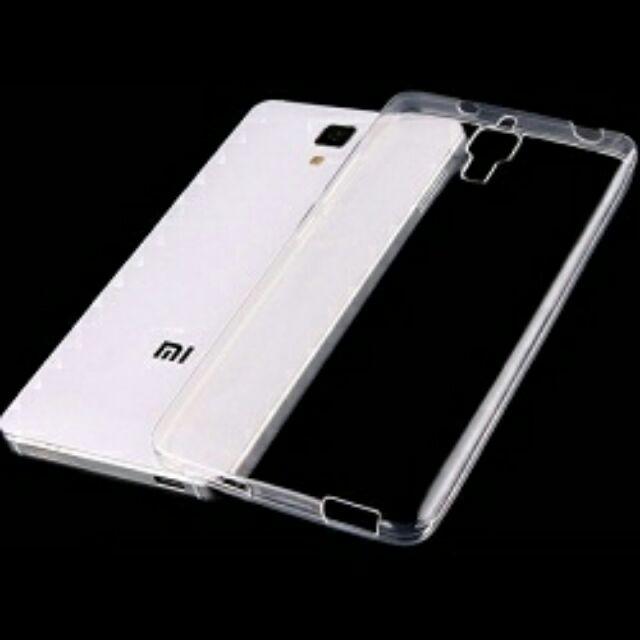 Ốp lưng Xiaomi Mi4 silicon trong suốt