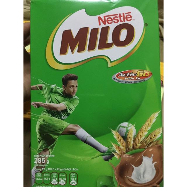 Sữa bột milo hộp 285g - 3261156 , 314479799 , 322_314479799 , 45000 , Sua-bot-milo-hop-285g-322_314479799 , shopee.vn , Sữa bột milo hộp 285g