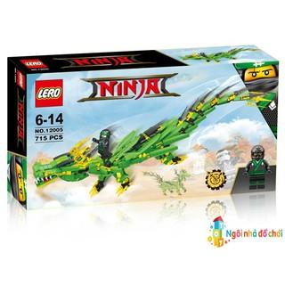 Đồ chơi lắp ráp Ninja 12005