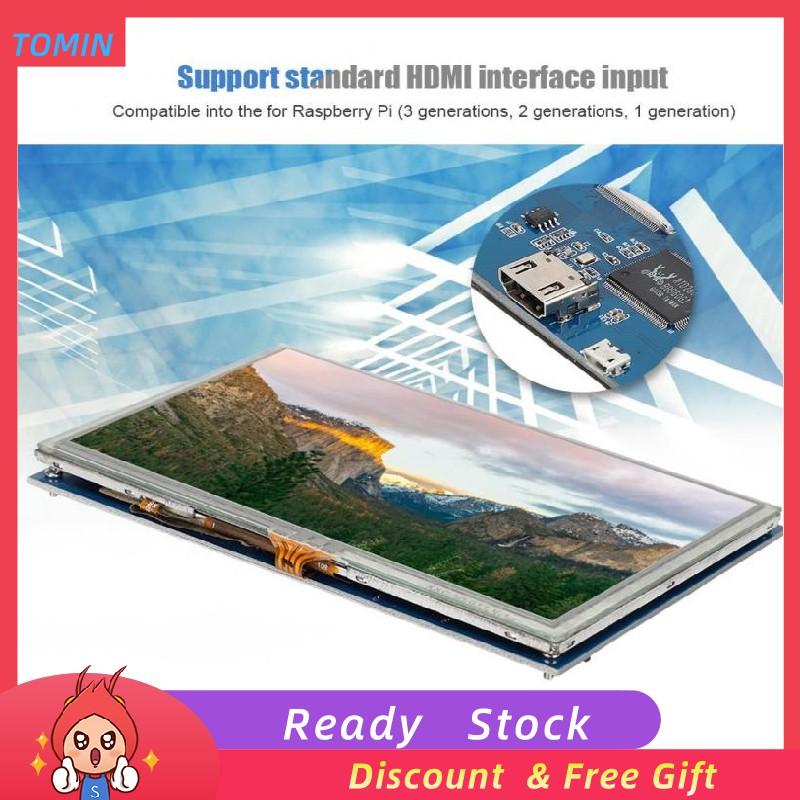 [Ready Stock]Màn hình cảm ứng HDMI LCD HD 5 inch cho vi máy tính Raspberry PI 3 PI 2/B+