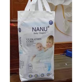 Combo 100 bỉm quần NaNu baby cho bé M/L/XL/XXL/XXXL