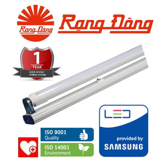 Bộ đèn LED tube (tuýt) T8 18W Rạng Đông M11 120 cm