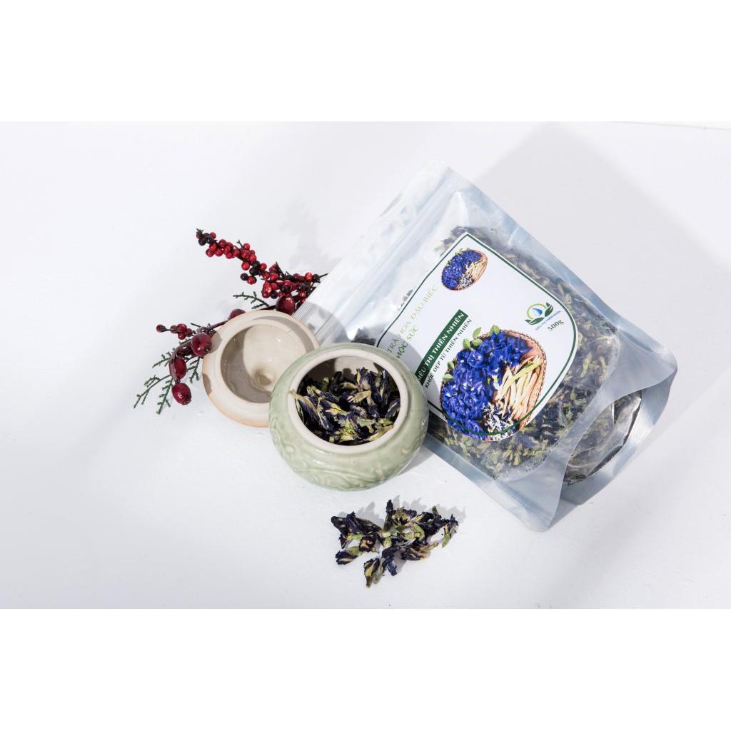 [HÀNG CHẤT LƯỢNG CAO] -   Trà hoa đậu biếc sấy khô Mộc Sắc gói 100g