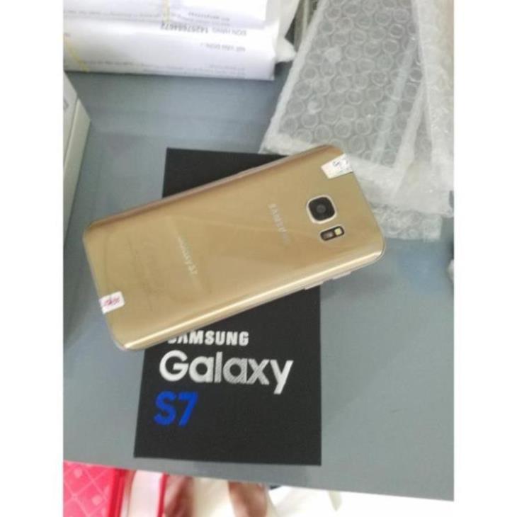 điện thoại Samsung Galaxy S7 2 sim ram 4G/32G zin mới Chính Hãng, Chiến Game siêu mượt