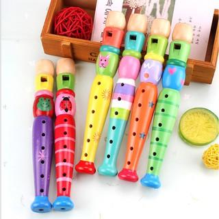 Sáo Dọc Đồ Chơi Cho Trẻ Em – sáo gỗ cực kỳ an toàn, có thể chơi nhạc, kích thích thính giác