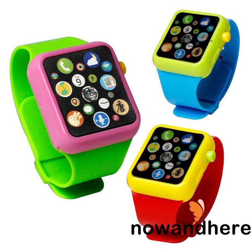 EN.-Creative Kids Educational Smart Toy Wrist Watch Music Teaching Baby Gift
