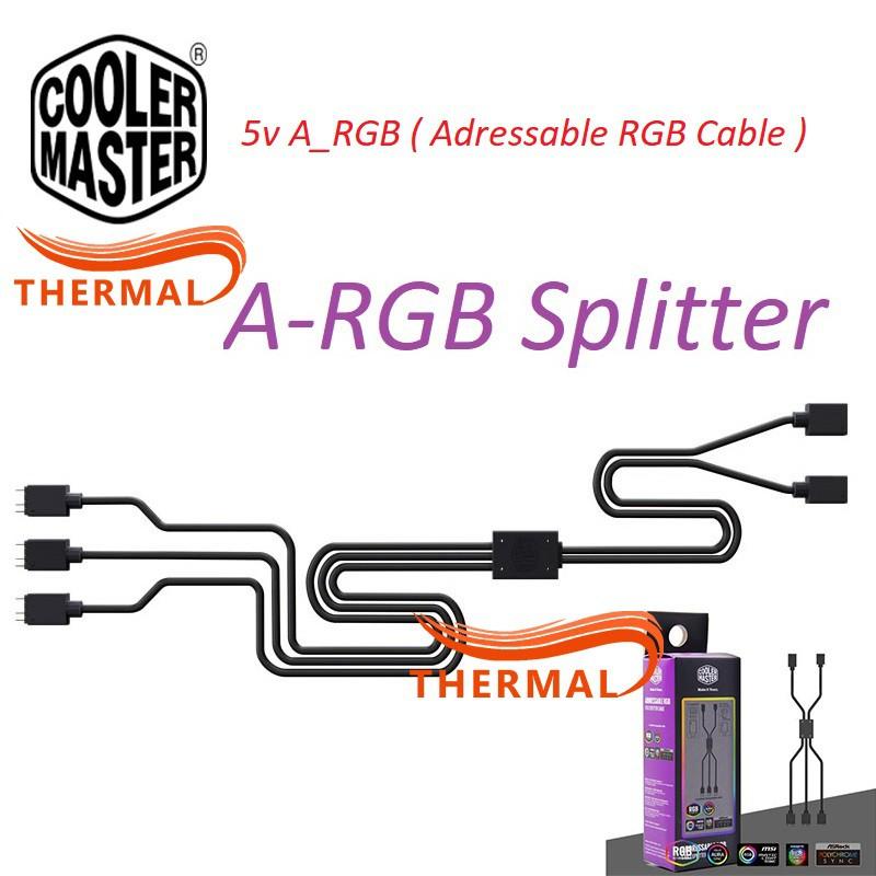Dây chia quạt Cooler Master A-RGB 1-to-3 Splitter Cable - Dây Nối A-RGB 5v