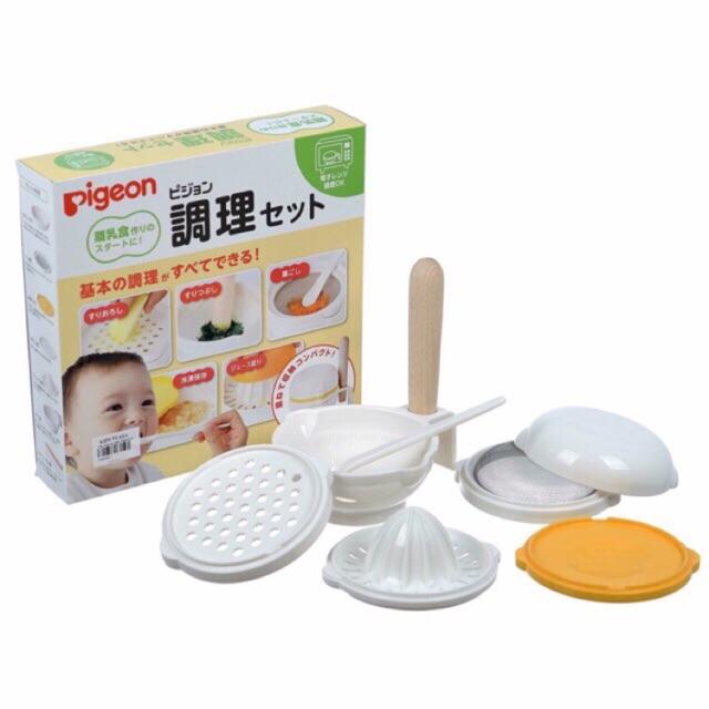 Bộ chế biến đồ ăn dặm Pigeon - Hàng nội địa Nhật - 2759357 , 974767392 , 322_974767392 , 420000 , Bo-che-bien-do-an-dam-Pigeon-Hang-noi-dia-Nhat-322_974767392 , shopee.vn , Bộ chế biến đồ ăn dặm Pigeon - Hàng nội địa Nhật