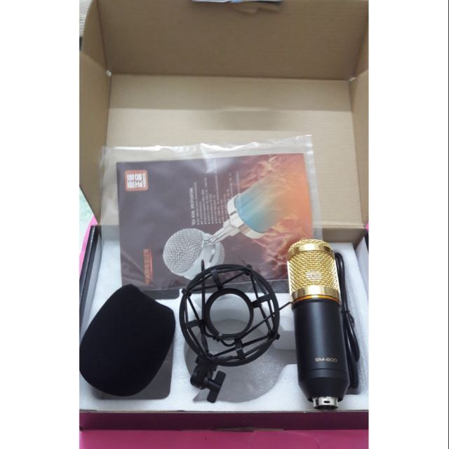 Mic thu âm chuyên nghiệp BM800 chính hãng sount mount bằng sắt - 2625614 , 1289900843 , 322_1289900843 , 270000 , Mic-thu-am-chuyen-nghiep-BM800-chinh-hang-sount-mount-bang-sat-322_1289900843 , shopee.vn , Mic thu âm chuyên nghiệp BM800 chính hãng sount mount bằng sắt