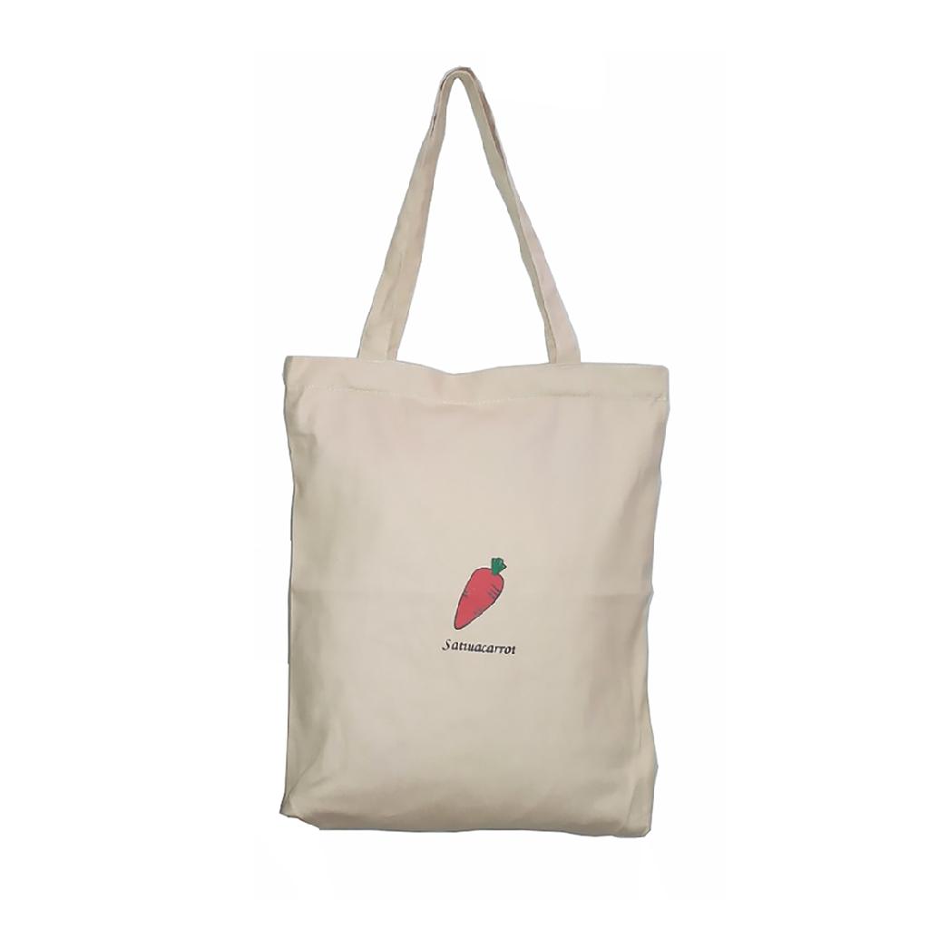 Túi Vải Đeo Vao Tote Bag XinhStore Cà Rốt Màu