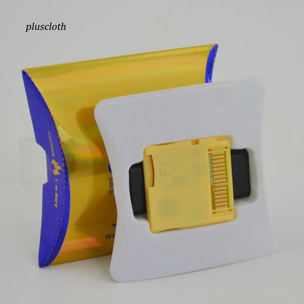 2018 Version New R4I SDHC Dual Core Gold Flash Card Adapter