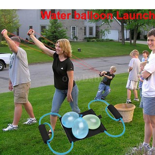 OMYBABY Water Balloon Launcher Snowball Fight Tool Outdoor Toys Beach Activity