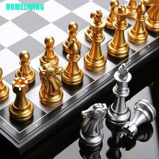 HOMELIVING▷Magnetic Travel game Chess Set Wegiel European Professional Tournament Chess Set