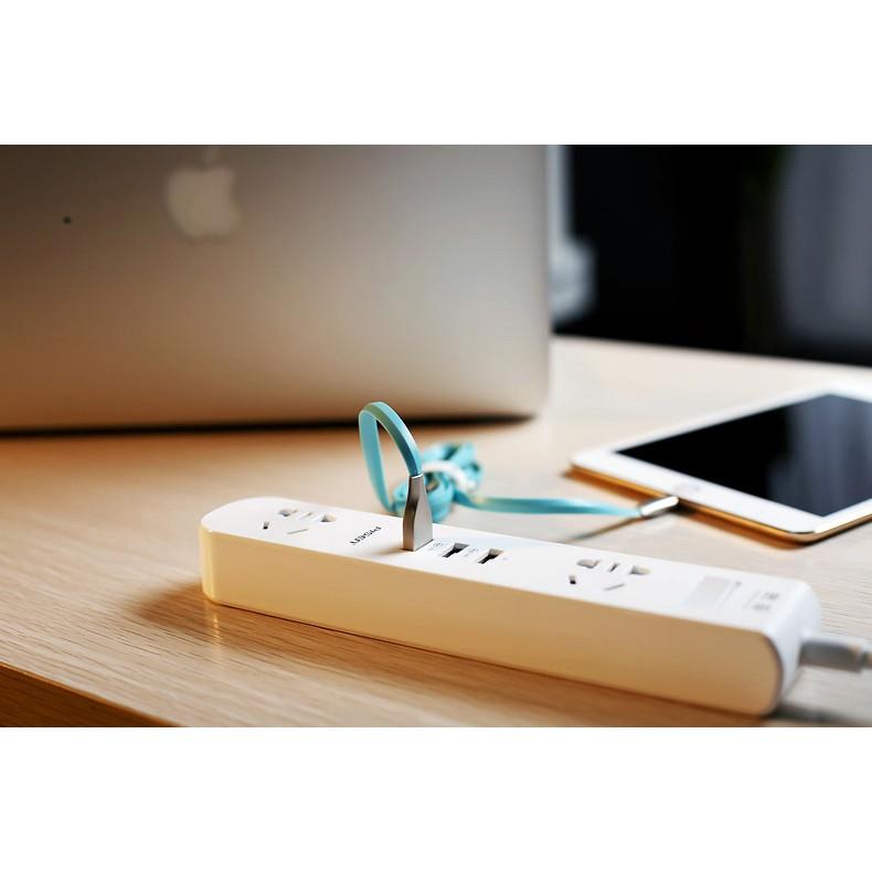 Ổ Cắm Điện Pisen Dài - Đa Năng Tiện Dụng 3 lỗ 3 USB 1.8m .