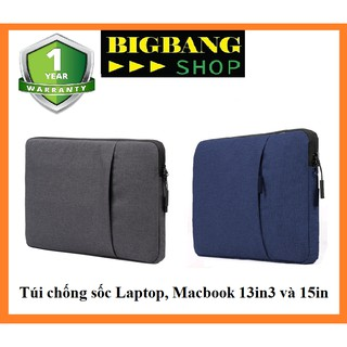 Túi chống sốc 13.3inch và 15inch cho Macbook , Laptop